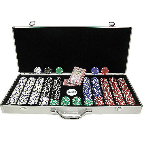 Trademark Poker 650 Landmark Casino 11.5g Poker Chips With In Aluminum Case by TRADEMARK GAMES INC
