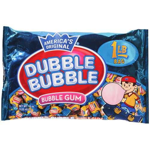 Dubble Bubble Gum, 16 Oz.