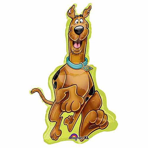 Scooby-Doo Shaped Foil Balloon