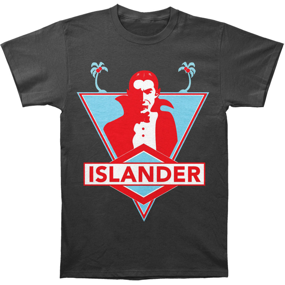 Islander Men's  Dracula T-shirt Grey