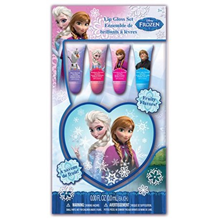 - Frozen Lip Tube Set with Heart Box, Strawberry, 4 Count