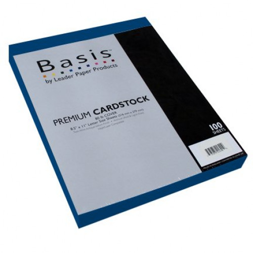 """Basis Red 80# Cover 11""""x17"""" - 100 sheets Limited Papers TM Brand"""