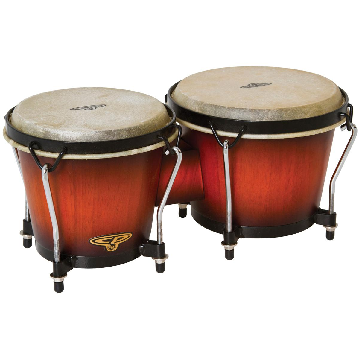 Latin Percussion CP221VSB CP Bongos in Vintage Sunburst Finish by LP