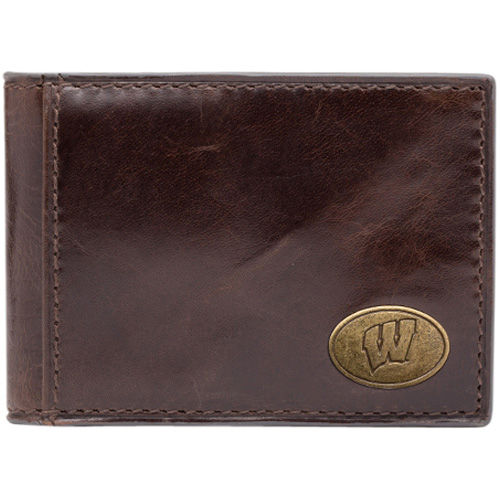 Mens Wisconsin Badgers Legacy Front Pocket Wallet