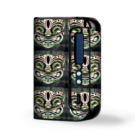 Skin Decal for Smok Osub King 220W Vape / Tiki Faces