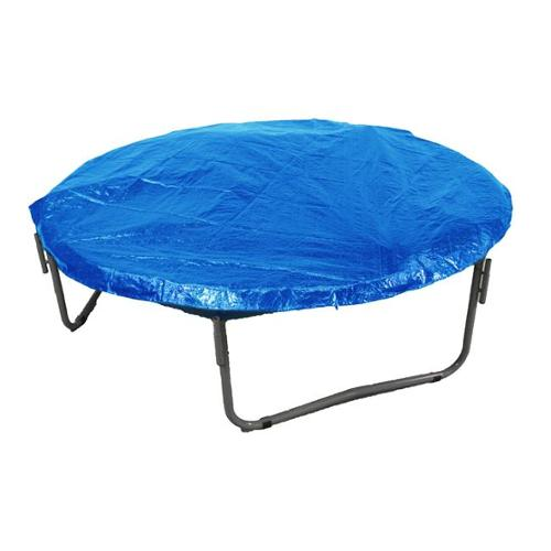 Upper Bounce UBWC-15-BL Trampoline Weather Cover For 15 ft.  Frame Rubber Ties.  & Hooks, Blue