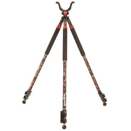 Bog-Pod CLD-3 Camo Legged Devil Tall Tripod Shooting Stick with Elite Tactical Cloth