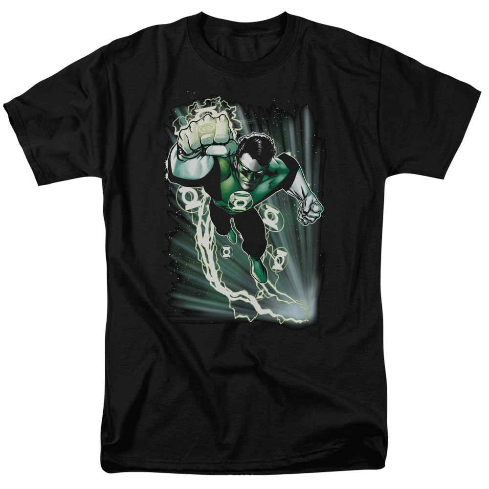 JLA EMERALD ENERGY S S ADULT 18 1 BLACK 2X by DVRunlimited Inc.