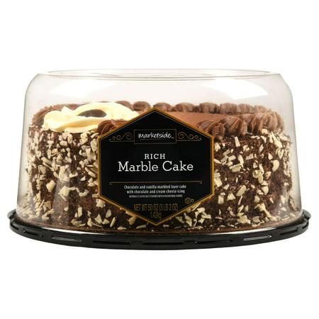 Marketside Rich Marble Cake 50 Oz Walmart Com