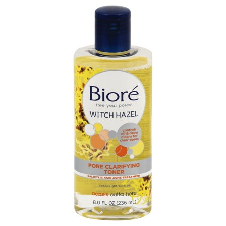Biore Pore Clarifying Witch Hazel Toner - 8 fl oz (Disney Halloween Witch Hazel)