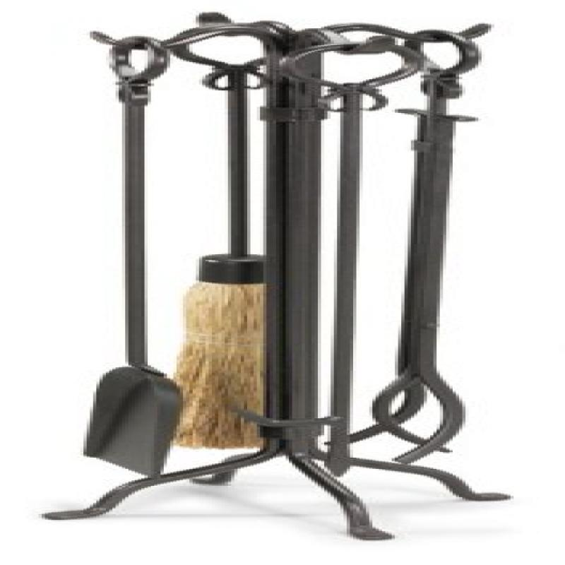 Pilgrim Home and Hearth 19005 Napa Forge Shakespeare's Garden Fireplace Tool Set
