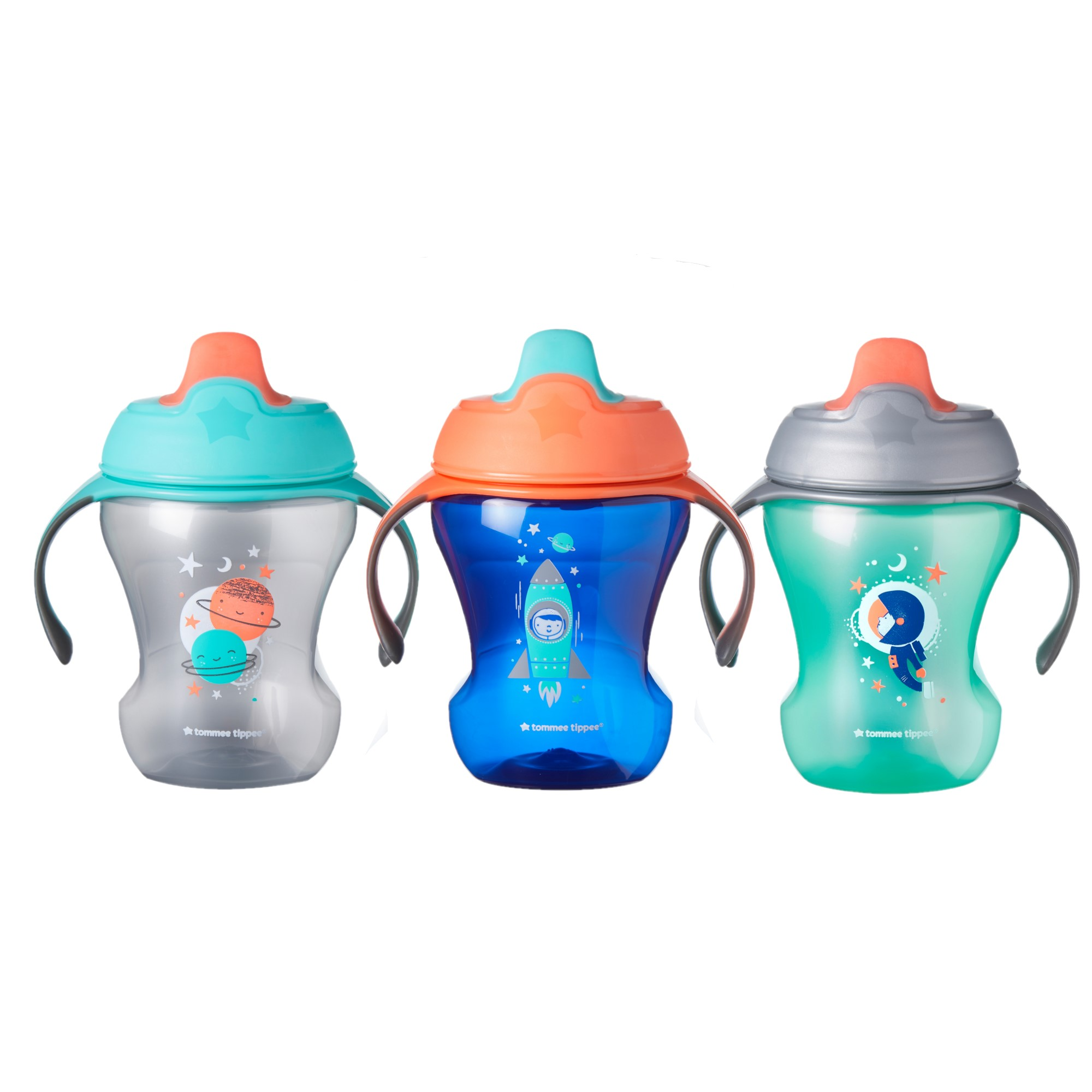 Baby Open Cup 5oz Silicone Training Cup for Infants Toddler Learning Cup with Two Handles blue 6months+