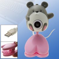 Toys Mouse Digital USB PC Camera Webcam w Clip NIB New