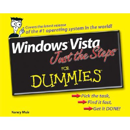 Windows Vista Just the Steps for Dummies - Crash Test Dummy For Sale