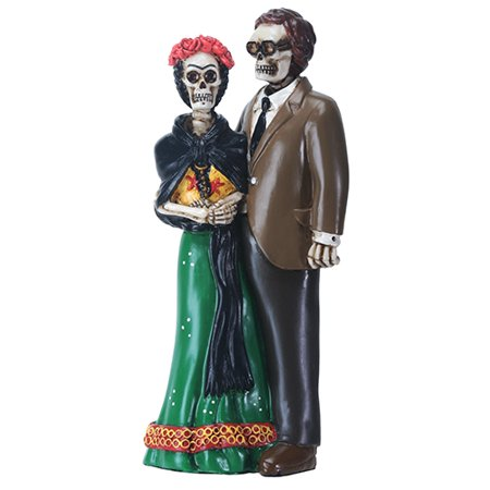 Love Skeleton Couple Day of the Dead Dia de los Muertos (Dia De Los Muertos Fabric Alexander Henry)