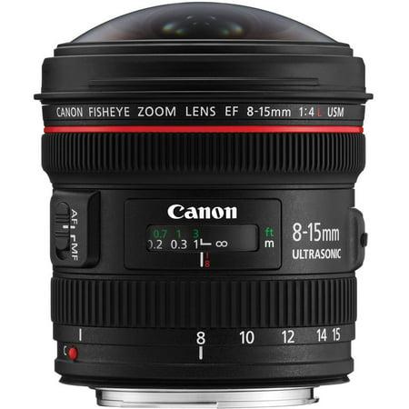 Canon EF 8-15mm f/4.0 L USM Fisheye Zoom Lens (Canon Ef 15mm F 2-8 Fisheye Review)