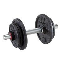 Deals on Decathlon 10 kg/22 lb Weight Training Adjustable Dumbbell