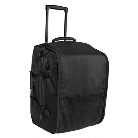 Rockville Rolling Travel Case Speaker Bag w/ Wheels For Electro Voice ZLX-12P ()