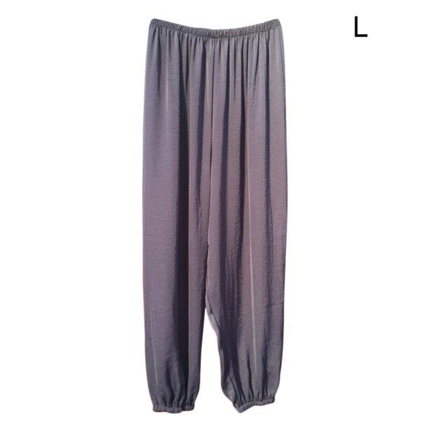 Ardorlove Summer Pantalones Mujer And Breathable Harem Pants Pantalon Femme Loose Wild Harem Pants Home Harem Pants Trousers Women Walmart Com Walmart Com