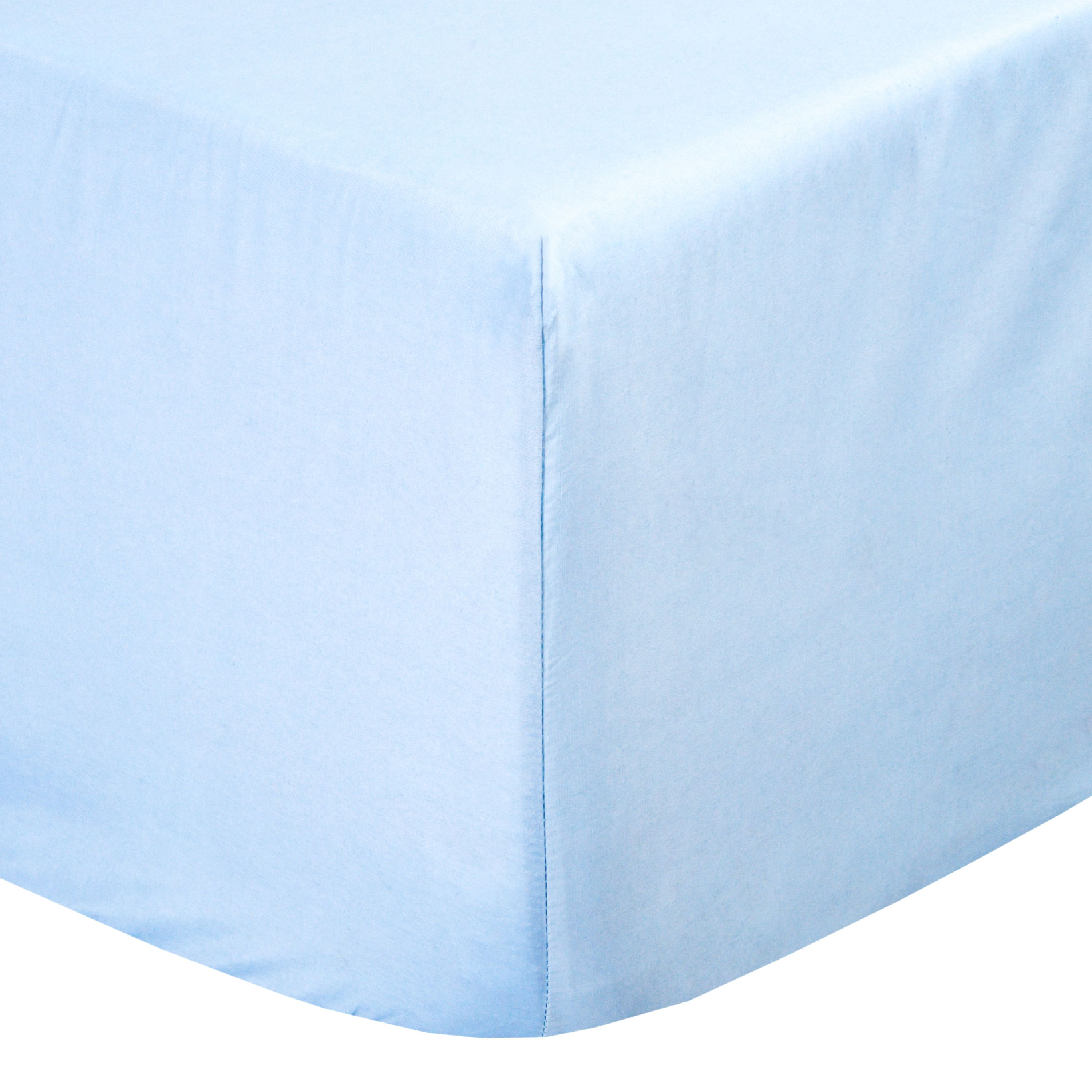 FOREVER BLUE Essential Cotton Blend Sheet Set by Pieridae
