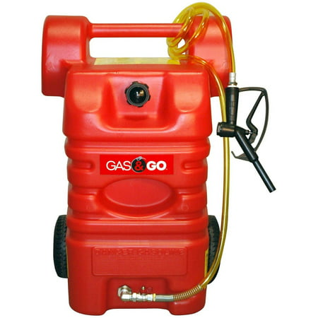 Gas   Go 15 Gallon Poly Fuel Cart