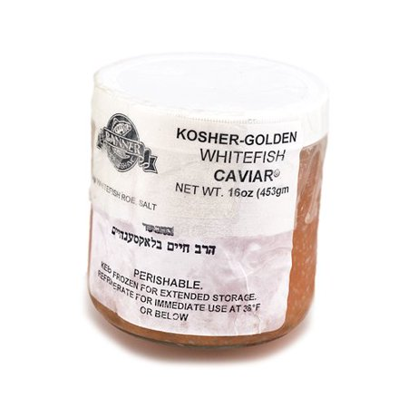 Kosher Whitefish Golden American Caviar - 16 oz ()