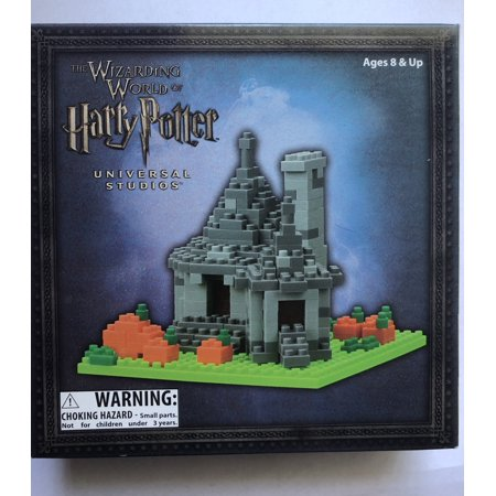 Universal Studios Wizarding World of Harry Potter Hagrid's Hut Nanoblock Set New - Universal Studios Shop
