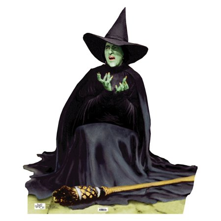 The Wicked Witch Melting Cardboard Cutout Life Size Party Prop Decor Birthday Party Supplies Size - 52