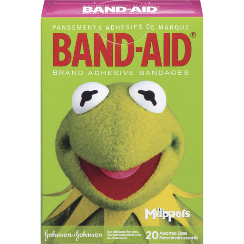 Band-Aid Brand Disney The Muppets Assorted Adhesive Bandages, 20ct