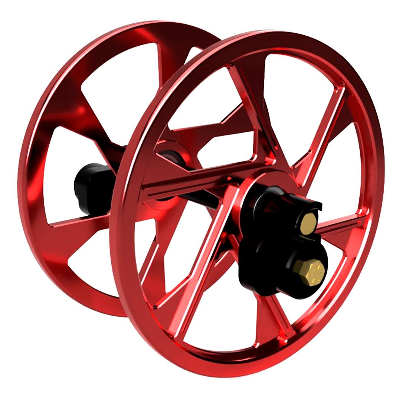 ITEK Anodized Big Wheels kit Aluminium - Fits Ski-doo Red ...