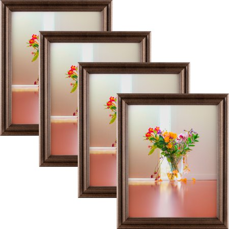 Craig Frames Tulip 60 Walnut Brown Hardwood Picture Frame 85x11
