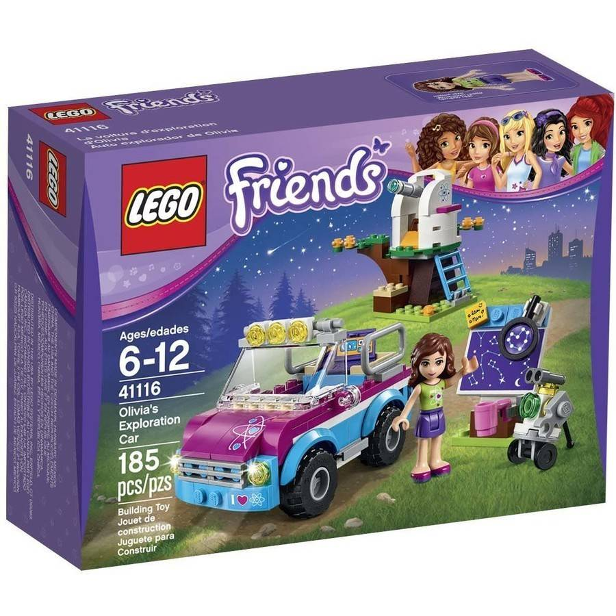 LEGO Friends Olivia's Exploration Car, 41116