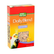 Wild Harvest Daily Blend Nutrition Diet 2 Pounds, For Cockatiels, Lovebirds And Small Hookbills