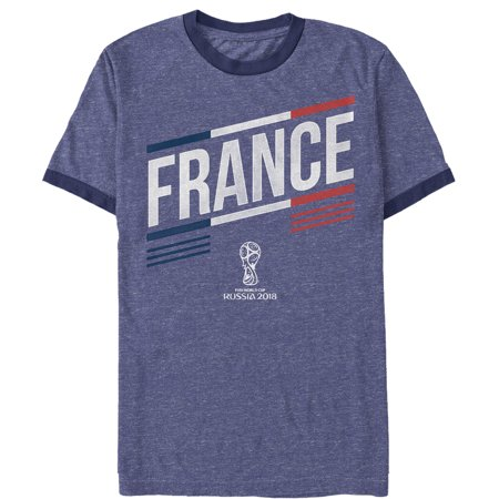 (FIFA World Cup Russia 2018™ Men's France Team Heather Royal Blue/Navy Ringer T-Shirt)