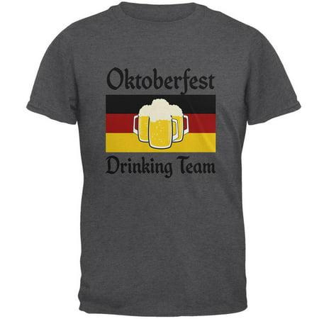 Oktoberfest Drinking Team Flag German Beer Mens T Shirt