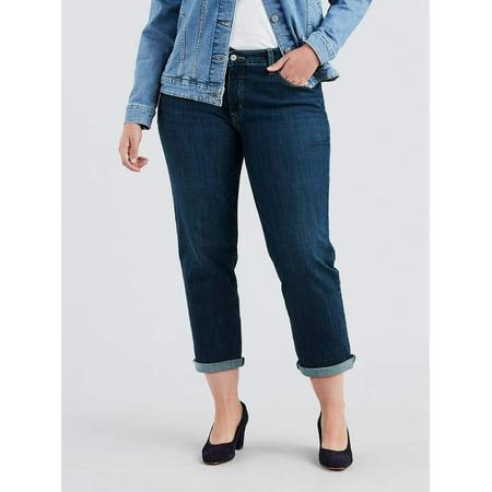 Levi's Women's Plus Size Boyfriend Jeans