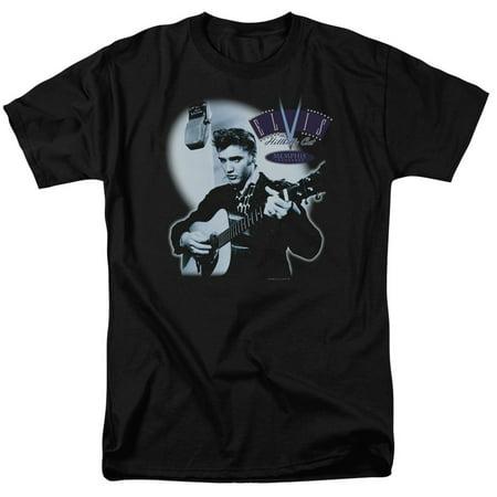 Hillbilly Cat (Elvis Presley The King Rock Hillbilly Cat Adult T-Shirt Tee )