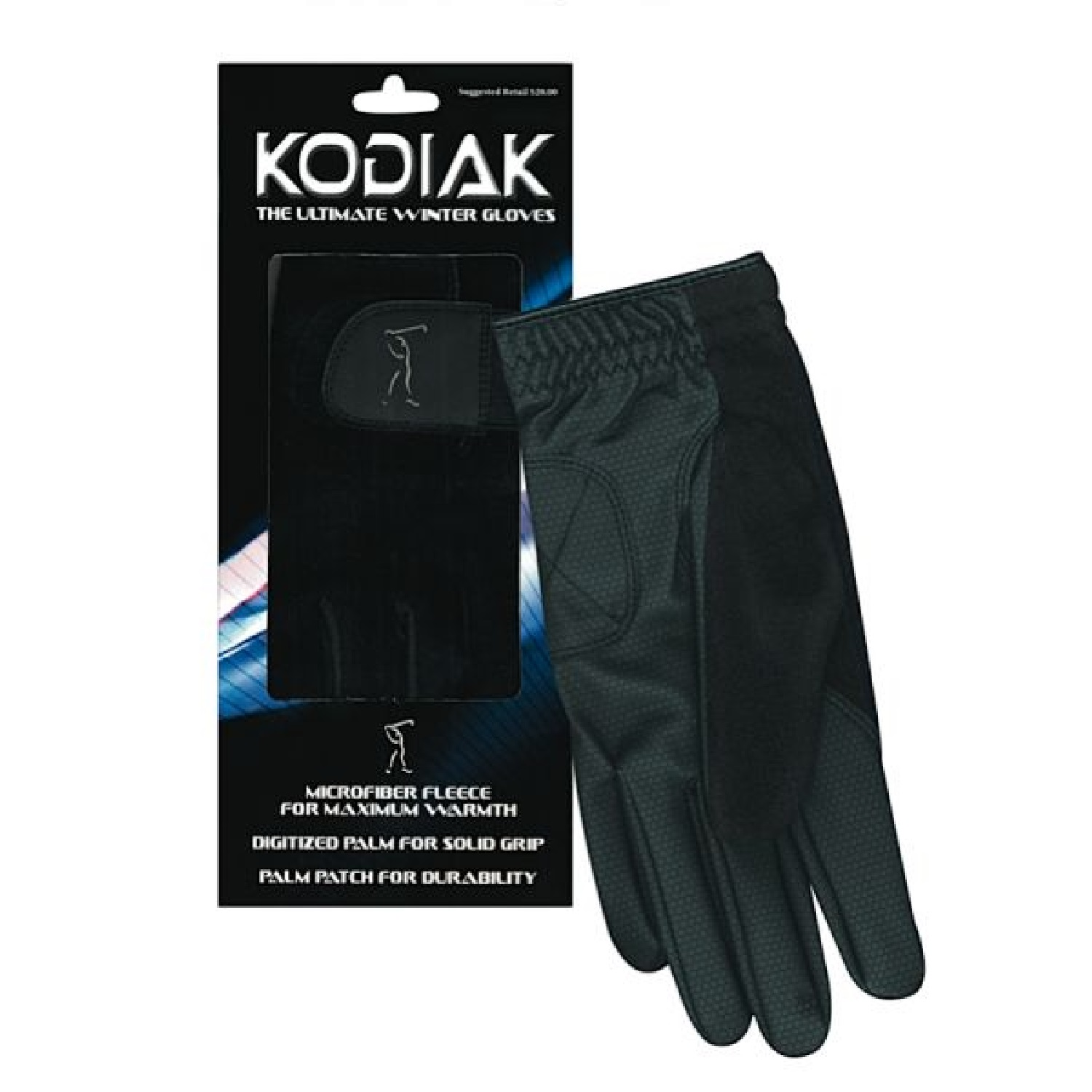 Merchants of Golf Kodiak Winter Gloves Pair Mens X-Large 95115 by Merchants of Golf