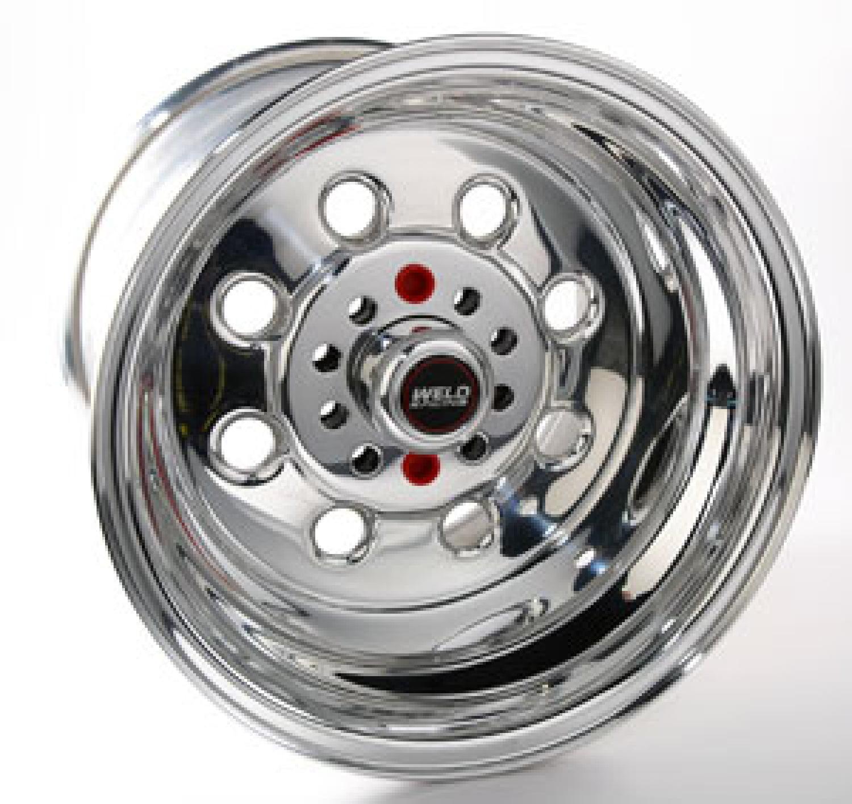 Polished Aluminum Weld Racing Draglite 15 X 7 Inch Wheel Series 90