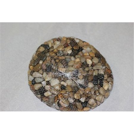 Athenas Garden PR-SM-B 0.2-0.4 in. Small Polished Stone Bag, 2 lbs - Black