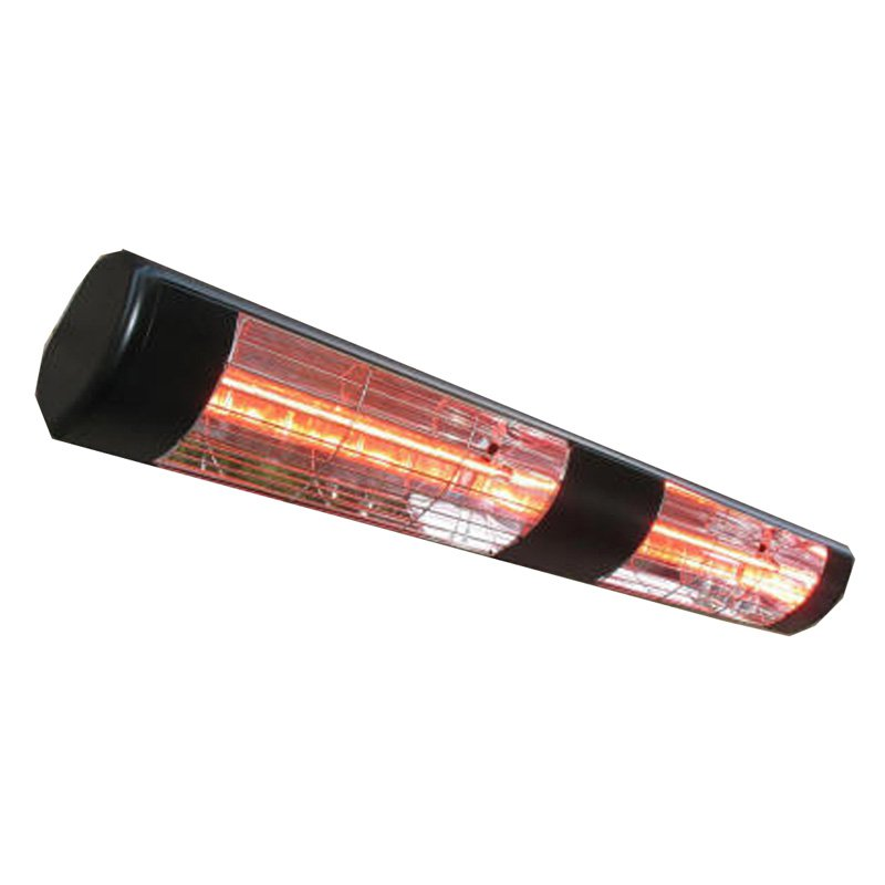 SUNHEAT Commercial/Restaurant 240V Wall Mount Electric Patio Heater - 3000W