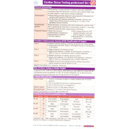 Cardiac Stress Testing Pocketcard Set