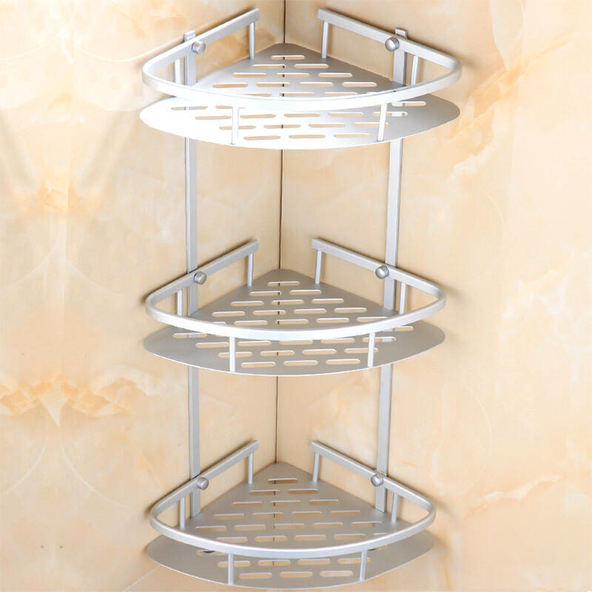 Stainless Steel Bathroom Corner Shelves Marcuscable Com