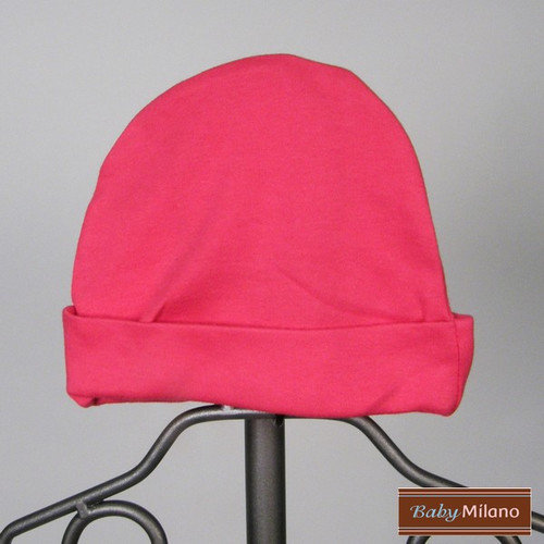 Baby Milano Baby Hat in Hot Pink