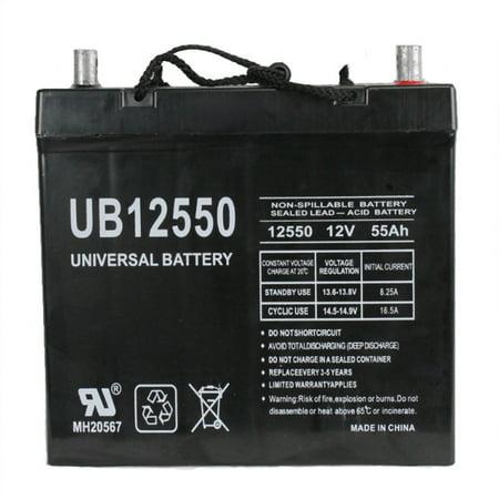 UB12550 (Group 22NF) 12V 55AH SLA Battery Z1 TT