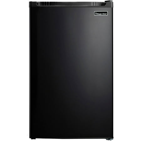 Magic Chef 4.4 Cu Ft Mini Refrigerator with Freezer MCBR440B2,