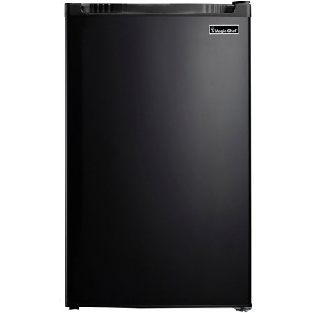 Sears Bottom Freezer Refrigerators - Magic Chef 4.4 Cu. Ft. Refrigerator with Full-Width Freezer Compartment in Black
