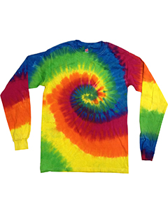 CD2000 Tie-Dye Adult Long-Sleeve Tie-Dyed T-Shirt