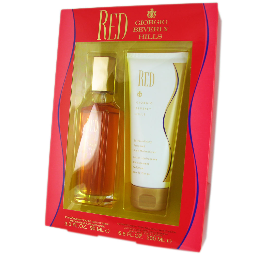 Red for Women by Giorgio Beverly Hills 2 Pcs Set