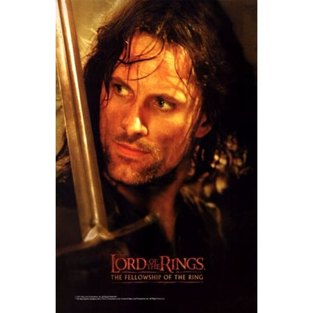 - Lord of the Rings Fellowship of the Ring Movie Poster (11 x 17)
